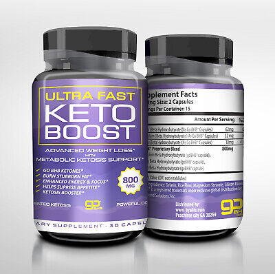 $9.76 • Buy Ultra Fast Keto Boost Advance Weight Loss Metabolic Support Usa