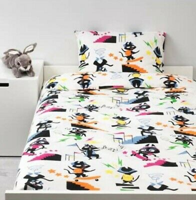 Kids Single Bedding Ikea  Duvet Cover Set Pillowcase Quilt Cover  • 15.99£