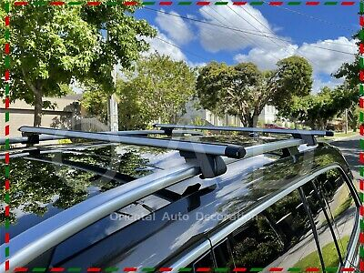 AU145 • Buy 1 Pair Aluminum Cross Bar Roof Rack For Jimny 99-18 With Raised Roof Rail