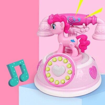 AU22.87 • Buy Musical Toys For Girls Age 2 3 4 5 6 7 8 Year Old Kids Phone Pony Children Gift