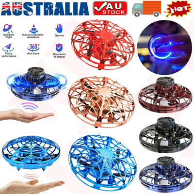 AU5.99 • Buy 360° Mini Drone UFO Aircraft Smart Hand Controlled For Kids Flying Toy Xmas Gift