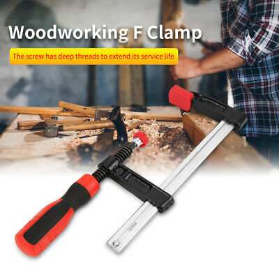 £9.99 • Buy 2 X F Clamps 50 X 150mm Wood Working Brick Layers Profile Clamp Adjustable
