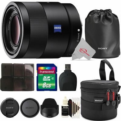 AU924.81 • Buy Sony Sonnar T* FE 55mm F/1.8 ZA Lens With Accessory Kit