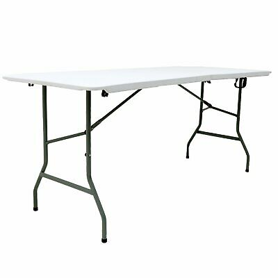 £42.99 • Buy NEW! 6ft 1.8m Folding Heavy Duty Catering Trestle Party Garden Table