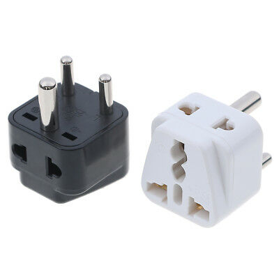 AU5.28 • Buy Travel US AU UK To India Sri Lanka/Nepal Plug Power Convertor Adapter_fr