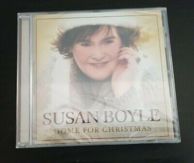 Cd Album - Susan Boyle - Home For Christmas - New And Sealed With Cracks • 2£