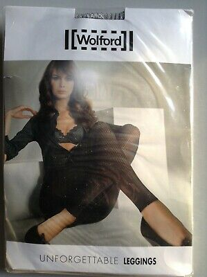 Wolford Unforgetable Leggings, 18564 7425 Drizzle Large Bnwl • 24.99£