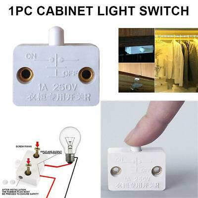 £1.89 • Buy  Automatic Reset Switch Wardrobe Cabinet Light Switch Door Control Switch