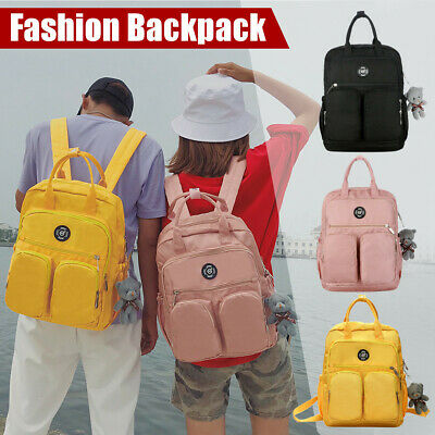 AU16.99 • Buy New Men/Women Backpack Multi-pocket Large Capacity Waterproof Anti-wear Bag AU