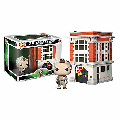 AU50 • Buy Ghostbusters - Peter With Firehouse Pop! Town #03 - NEW