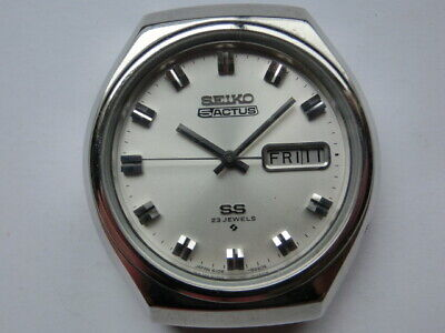 $ CDN274.23 • Buy Seiko 5 ACTUS 70' SS Automatic 23Jewels Mens Watch Silver Color Case 38mm