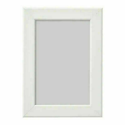 Ikea Fiskbo Small Photo Frame WHITE Hanging Standing Wall Mount 10x15 Cm 4x6 In • 3.89£