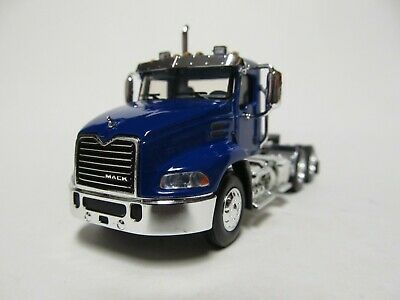$45 • Buy First Gear / Dcp 1/64 Scale  Mack Pinnacle Day Cab, Blue, Black Frame