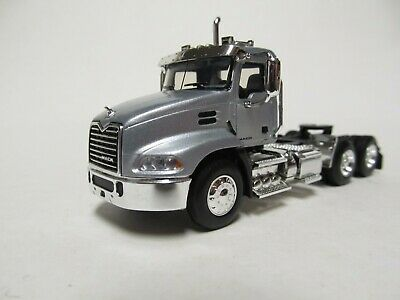 $45 • Buy First Gear / Dcp 1/64 Scale  Mack Pinnacle Day Cab, Silver, Black Frame