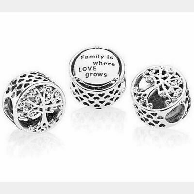 Silver Genuine Pandora Family Roots Tree Silver Charm S925 ALE 797590 New • 9.95£