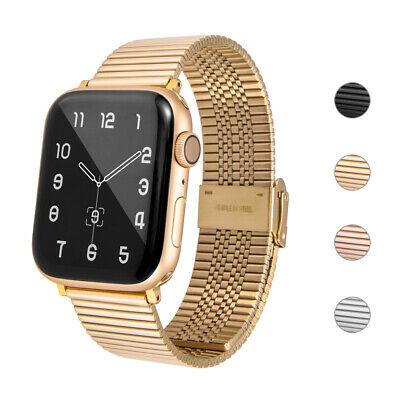 $ CDN15.03 • Buy For Apple Watch Series 6 5 4 3 SE Stainless Steel IWatch Link Band Strap 40/44mm