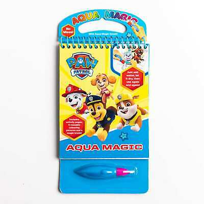 £5.49 • Buy Paw Patrol Aqua Magic - Children's Character Colour With Water Includes Pen