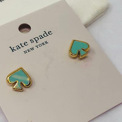 $ CDN27.55 • Buy Kate Spade Everyday Spade Earrings  Mint Green    NWT