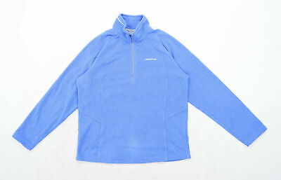 Craghoppers Womens Size 12 Fleece Blue Jacket • 10£