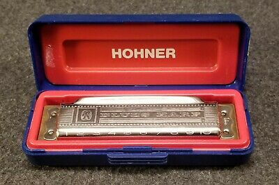 $29.97 • Buy M Hohner Blues Harp Vintage Harmonica Case Made In Germany Key F