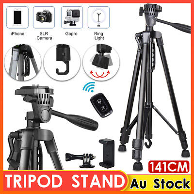 AU29.91 • Buy Professional Camera Tripod Monopod Stand DSLR Ball Head Mount Flexible Universal