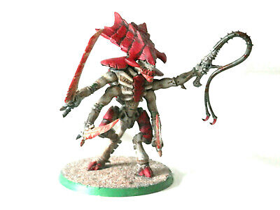 £45 • Buy A5 Warhammer 40k Tyranids Army - Painted Hive Tyrant Metal Model