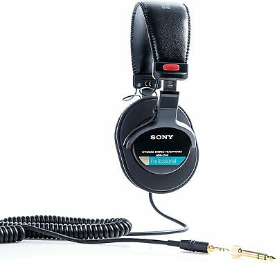 Sony MDR-7506/1  Professional Headphone, Black Including Soft Case  • 88£