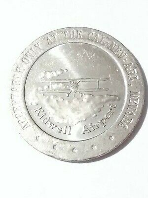 $3 • Buy 1981 Kidwell Airport Cal - Nev - Ari Nevada $1 00 Token Great For Collection!