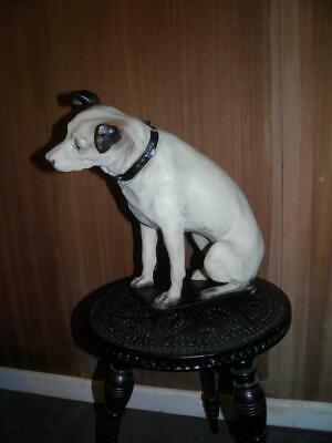 Vintage Iconic Hmv (rca Victor) Advertising Large Nipper Dog (his Masters Voice) • 385£