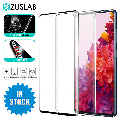 AU10.95 • Buy For Samsung Galaxy S20 FE 5G Full Coverage Tempered Glass Screen Protector