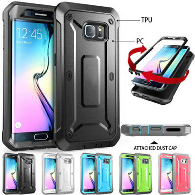 AU9.99 • Buy Galaxy S8 Plus S7 Case For Samsung Heavy Duty Shock Proof Fully Protective Cover