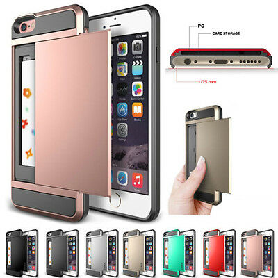 AU6.99 • Buy IPhone 6s 6s Plus Case Iphone 6 6 Plus Cover Wallet Card Holder For Apple