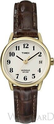 Timex Women's Easy Reader 25 Mm Leather Strap Watch • 31.99£