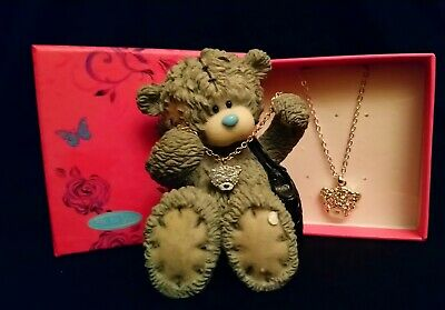 Me To You Bear/Tatty Teddy Figurine - 41070 - Bear With Necklace - BOXED • 29.99£