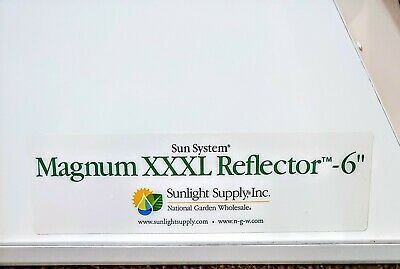 $250 • Buy Sun System Magnum Xxxl 6in Double Ended Air Cool Reflector With Light/ Ballast!!