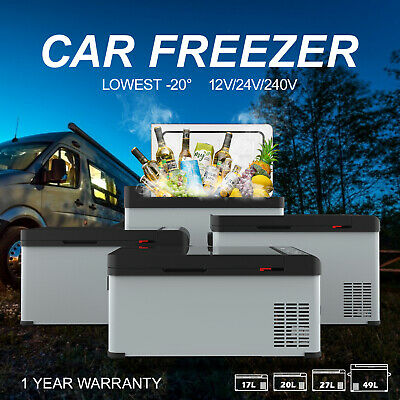 AU249.90 • Buy 17L/20L/27L/49L Portable Fridge Freezer Cooler 12V/24V/240V Camping Car Caravan