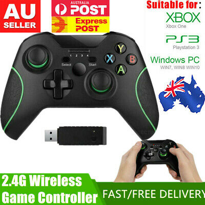 AU44.61 • Buy AU NEW~Wired/Wireless Game Controller Gamepad Joystick For Microsoft Xbox One PC