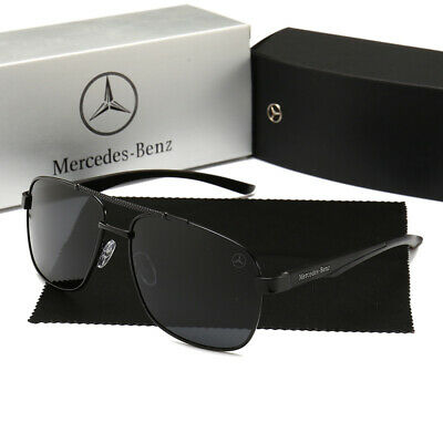 Mercedes-Benz Sunglasses Cassic Polarized UV400 Unisex Outdoor Shade Glasses New • 15.88£