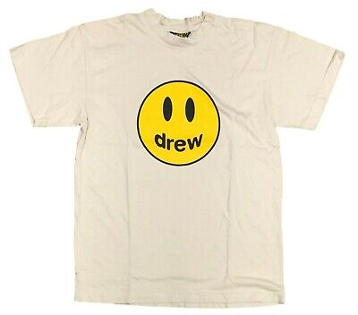 AU72.15 • Buy Drew House X Justin Bieber Size M Off White Mascot T Shirt - NEW WITH DEFECT