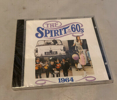 Time Life Double Cd,The Spirit Of The 60,s,1964Good Condition • 12£