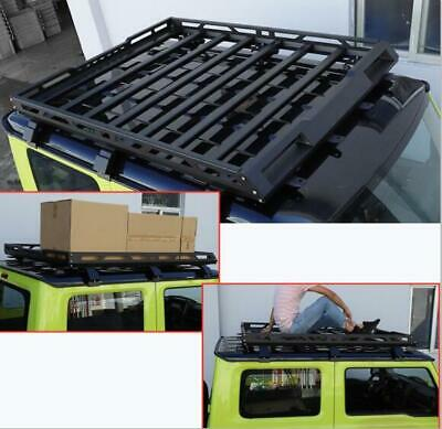 AU560.33 • Buy  For Suzuki Jimny 2019-2020 Alloy Roof Luggage Rack Basket Metal Carrier Box Kit