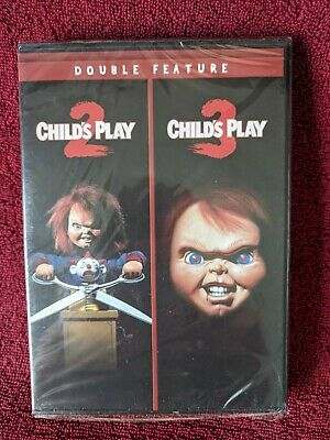 (DVD) CHILD'S PLAY 2 / CHILD'S PLAY 3 (Double Feature) Brad Dourif, Alex Vincent • 16.44£