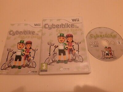 Cyberbike Cycling Sports Nintendo Wii Preowned • 7.99£