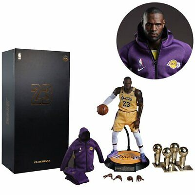$324.99 • Buy NBA Coll. Real Masterpiece LeBron James 1:6 Scale Figure 3/22 2021 PRESALE