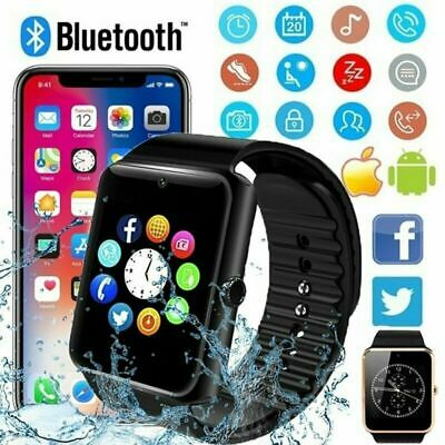 AU18.76 • Buy Men Kids GT08 Bluetooth Smart Watch For Android IOS IPhone Apple GSM SIM Women D