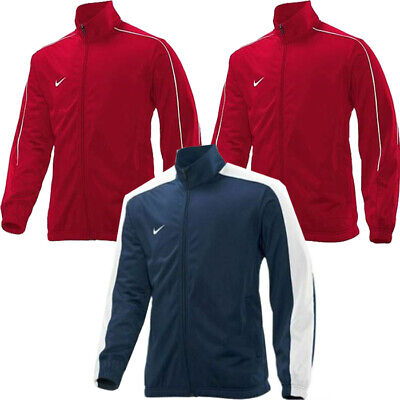 Nike Mens Poly Tracksuit Top Gym Running Sports Track Zip Jacket Blue • 14.99£