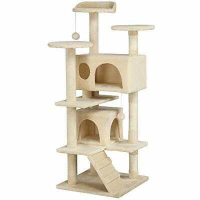 £39.95 • Buy AVC Large Cat Tree Scratch Post Bed Multi Level Activity Tower 1.2m Light Beige
