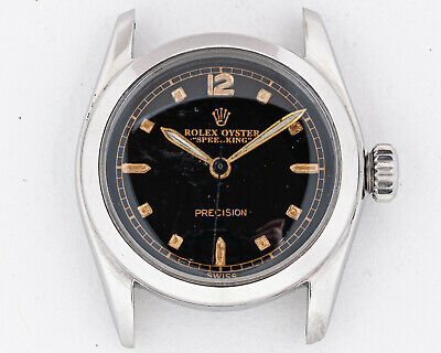 $ CDN1899.55 • Buy Vintage 1950's Rolex Stainless Steel Speedking Ref. 6056 Out Of Estate! Running!