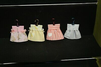Dolls House Miniature   (  4  =  Small Baby Dresses  • 12.99£
