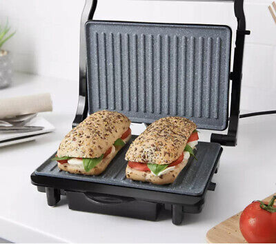 £29.29 • Buy Deluxe Health Grill And Panini Press   Non-Stick Marble Coating